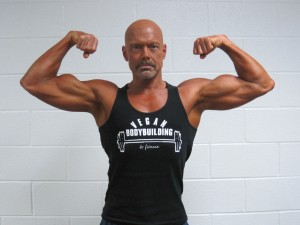 50 Year Old Vegan Bodybuilder