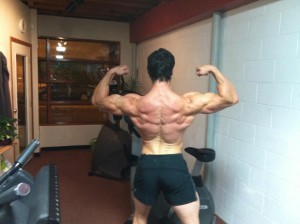 Back shot - 16 weeks out!