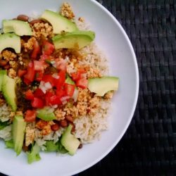 Oil-Free Chipotle Sofritas Bowl