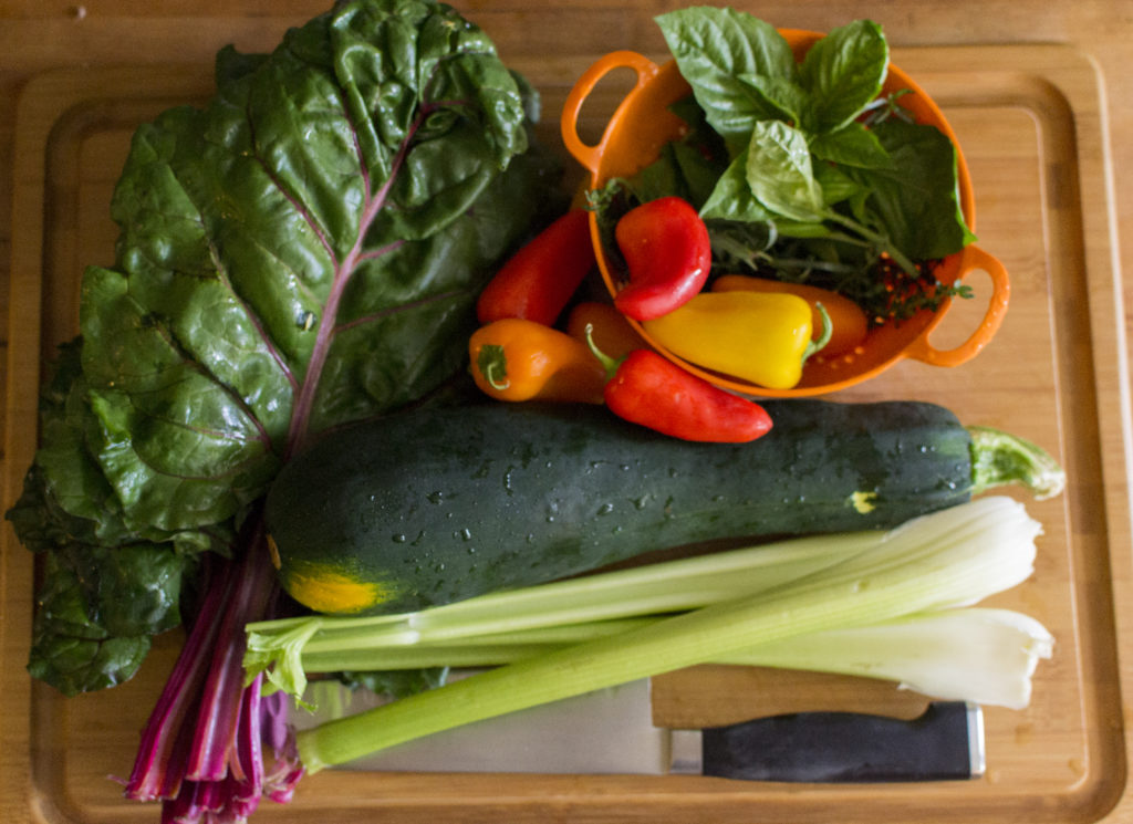 Swiss Chard Roll Ingredients