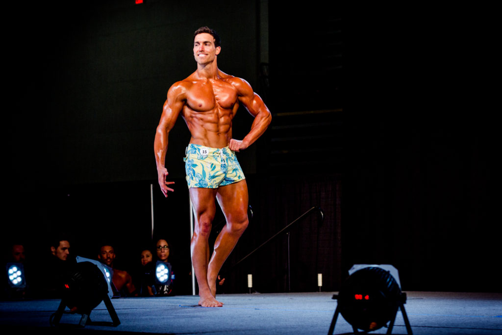 Vegan Pro Physique Athlete Derek